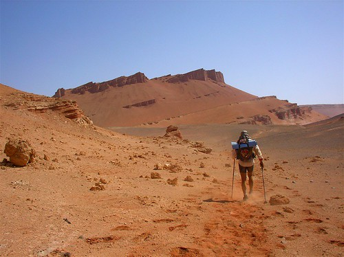 Running in the Desert: The Gobi March 2005 by Adventure Nomad.
