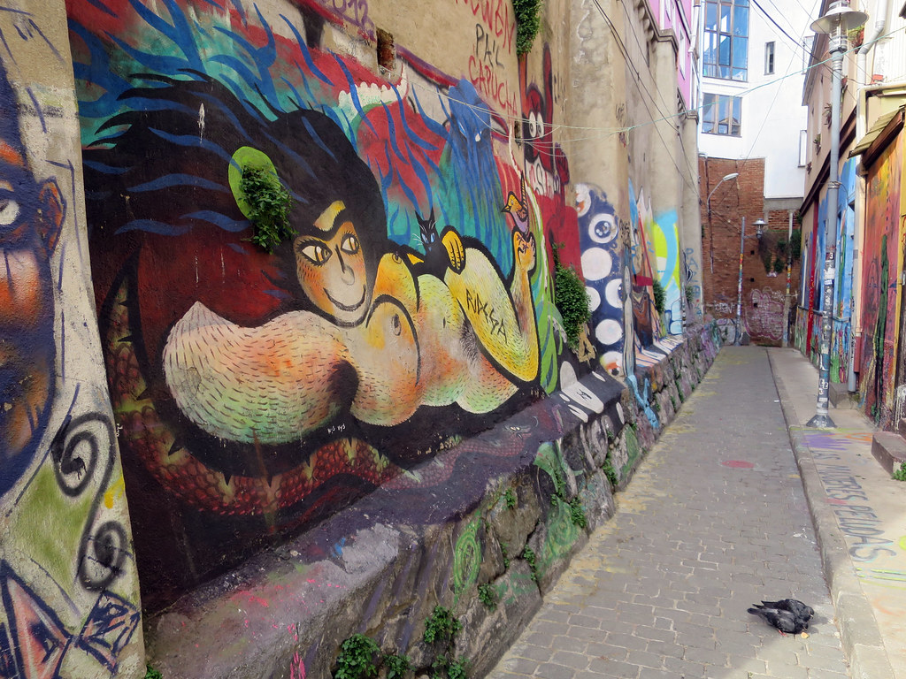 Arte Callejero Valparaiso The World S Best Photos Of Callejero And Valparaiso Flickr Hive Mind
