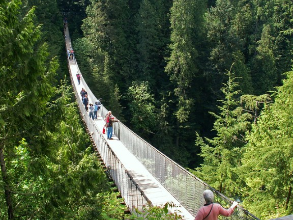Capilano Suspension Bridge. Photo by Arrr! on Flickr