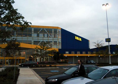 Ikea Schaumburg Ikea At Twilight | The Massive Schaumburg, Il Ikea Store