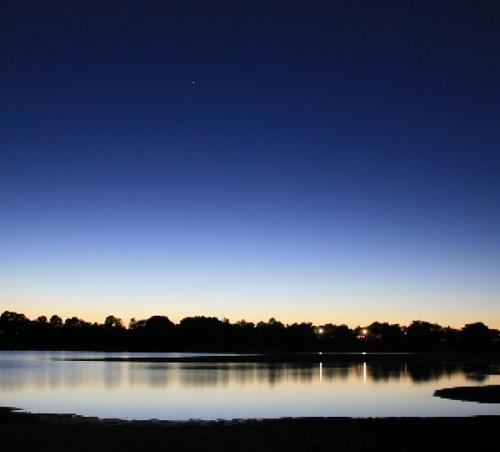 Dark 3d Wallpaper Dark Blue Sunset Over Douglas Lake East Tennessee