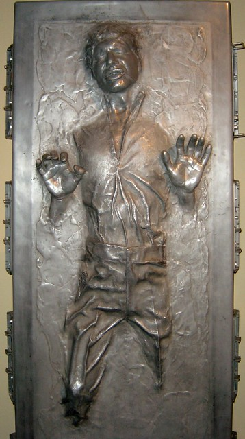 Girl With Chocolate Wallpaper Han Solo Encased In Carbonite Flickr Photo Sharing