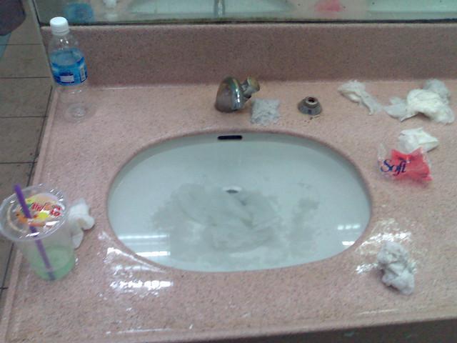 Sink Choked Flickr Photo Sharing