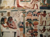 Egyptian Wall Paintings From The New Kingdom | Flickr ...