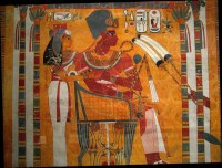 Egyptian Wall Paintings From The New Kingdom - a photo on ...