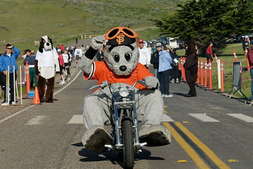 Biker Lou Seal @ Run for the Seals