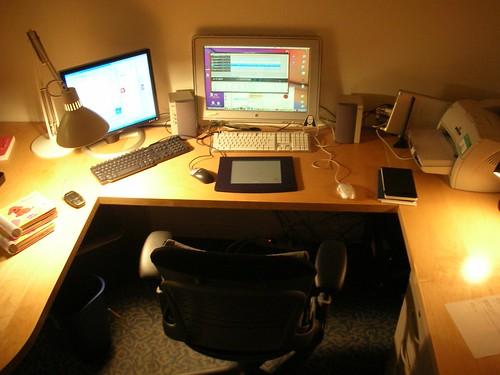 Still bare, my office on 8th.