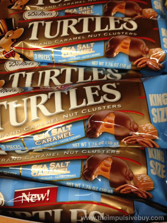 DeMet's King Size Sea Salt Caramel Turtles