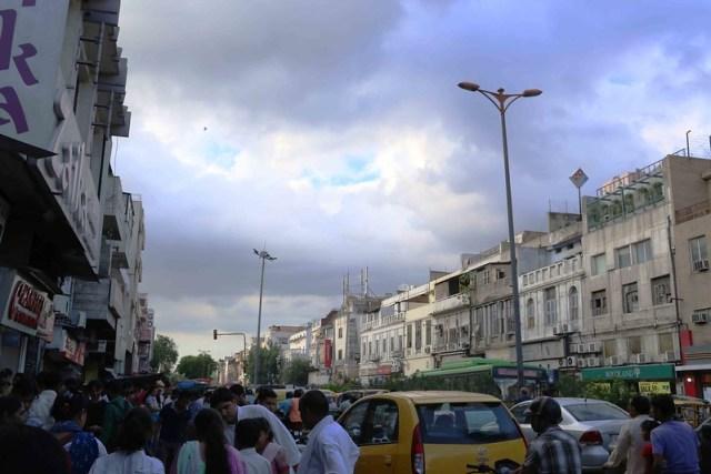 City Season - Evening Sky, Daryaganj