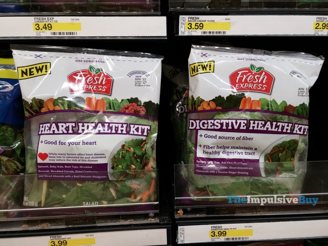Fresh Express Heart Health Kit and Digestive Health Kit