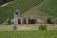 A house built into a hill