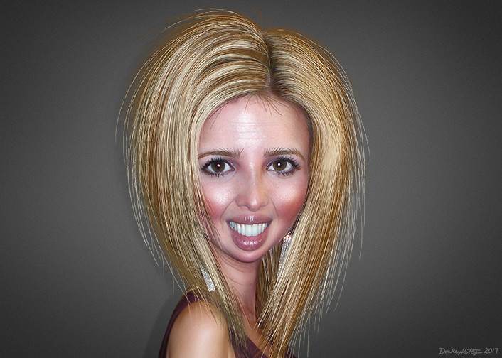 Get It Girl Wallpaper Ivanka Trump Caricature Ivanka Marie Trump Aka Ivanka