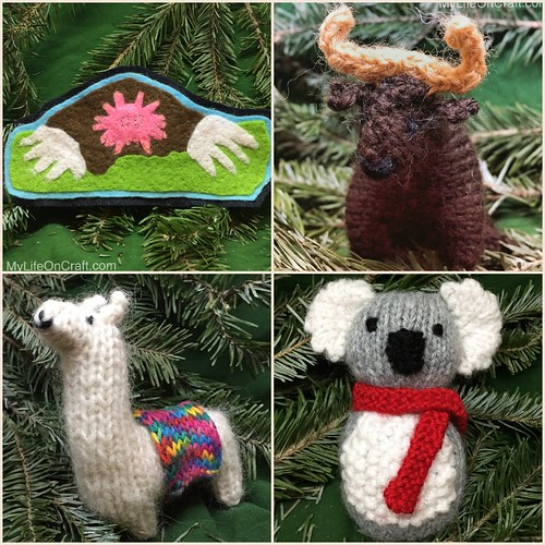 Handmade ornaments 13-16