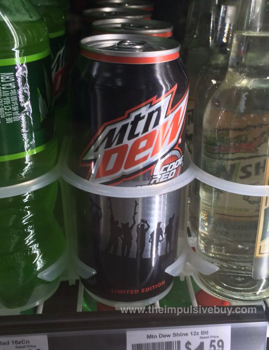 Limited Edition We Are Blood Code Red Mountain Dew