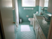 Blue vintage bathrooms - a gallery on Flickr