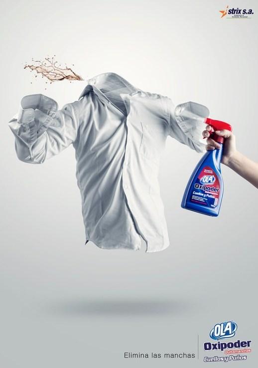 Ola - Eliminating stains 1