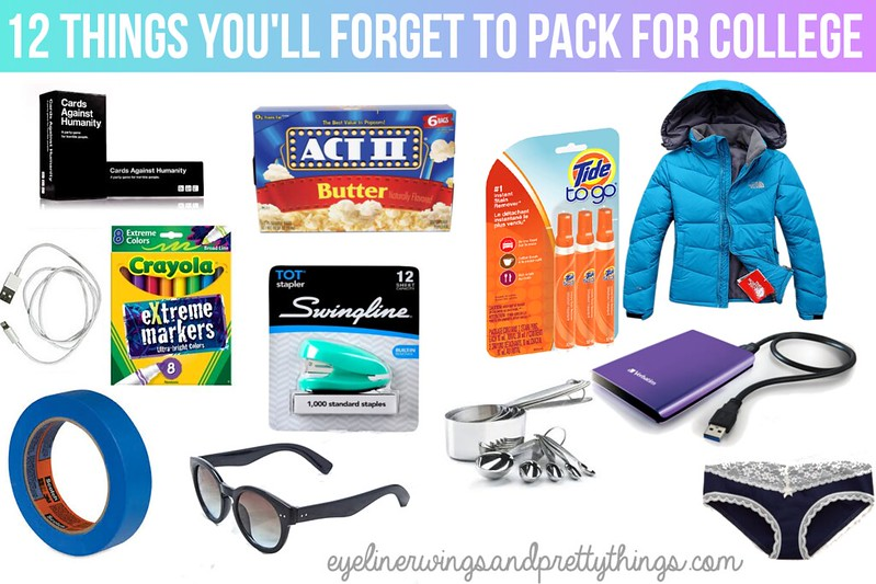 12 Things You\u0027ll Forget To Pack for College