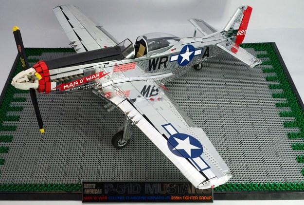 Lego P-51 D 2