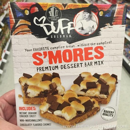 Charm City Cakes Duff Goldman S'mores Dessert Bar Mix