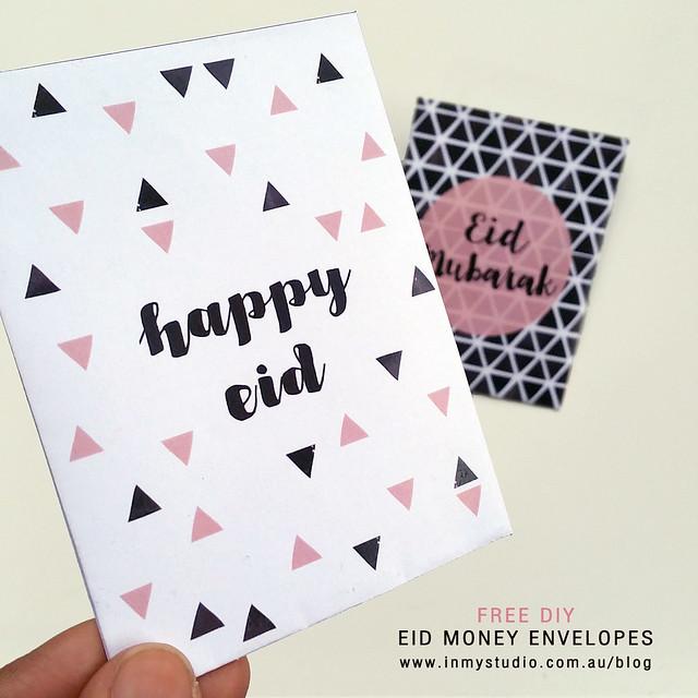 in my studio FREE Eid Money Envelopes