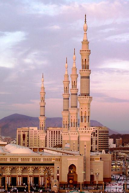 Sabir 3d Name Wallpaper Minarets At Dawn Medina Saudi Arabia Flickr Photo