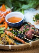 22. Grilled skewers, Street Side Platter [photo by Ben Nelms]