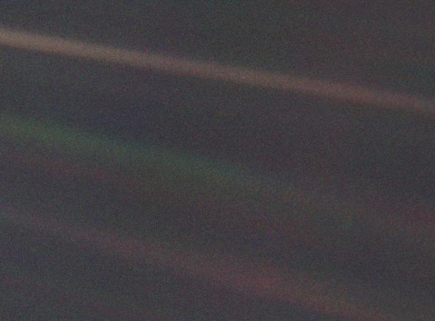 La foto más espectacular de la Tierra: a 6.000 millones de km