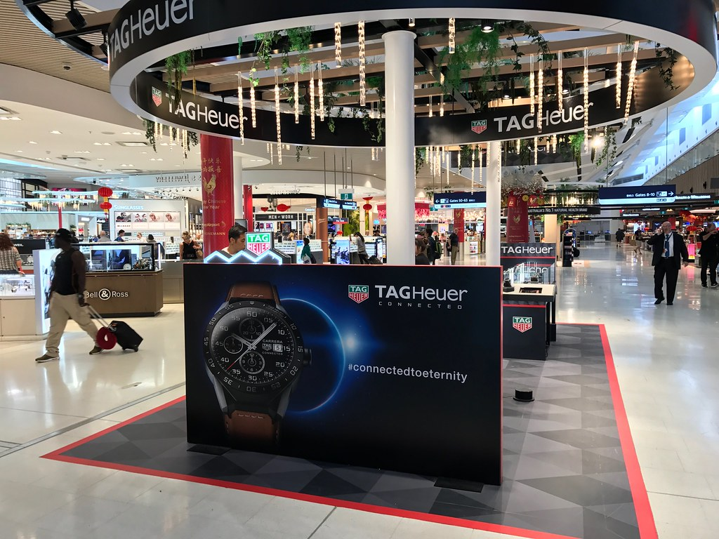 Sydney Airport Shops Tag Heuer Concession At Sydney Airport Textlad Flickr