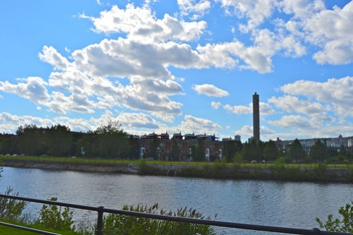 canal lachine clouds