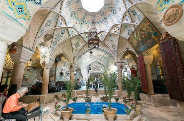 Underground Cafe. Kerman