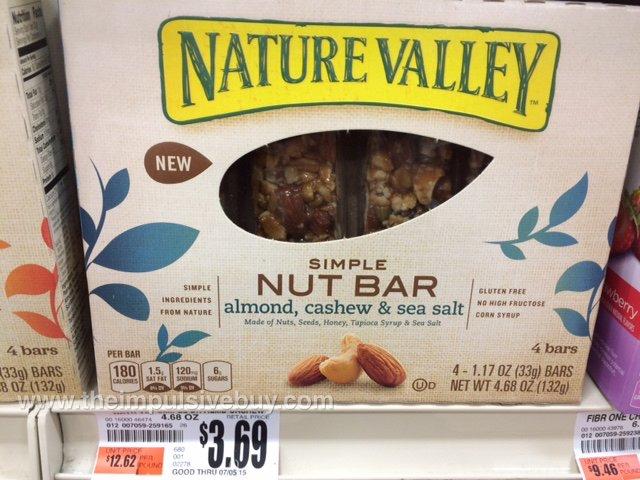 Nature Valley Almond, Cashew & Sea Salt Simple Nut Bar