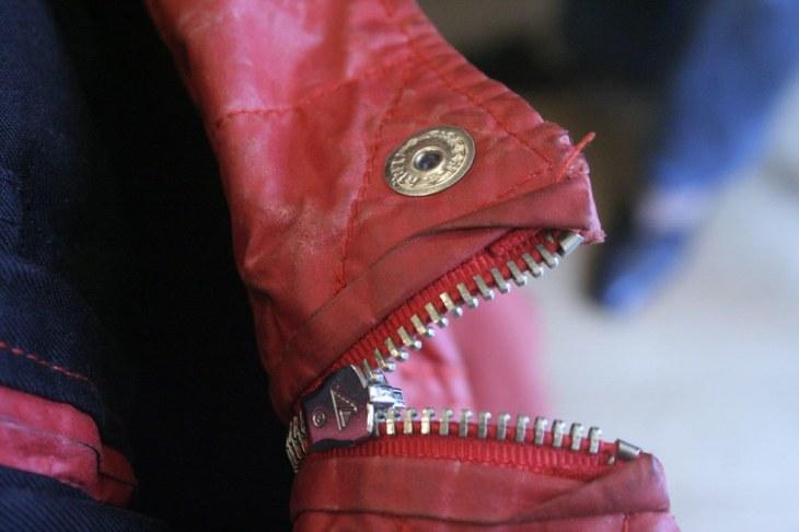 Red Jacket Zipper Fish