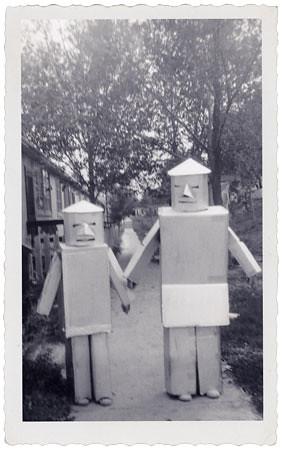 1950's Halloween Robots
