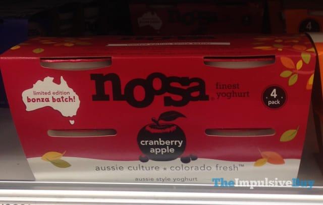 Noosa Limited Edition Bonza Batch Cranberry Apple Aussie Style Yoghurt