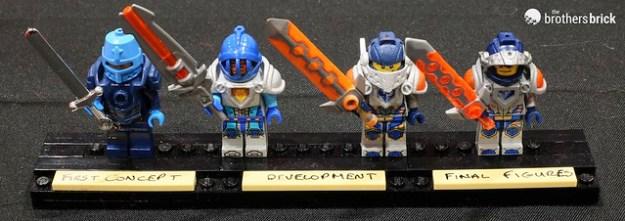 NEXO Knight Figure Development