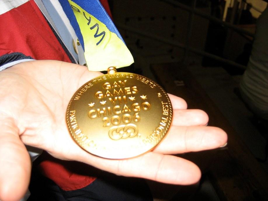 gay games gold medal