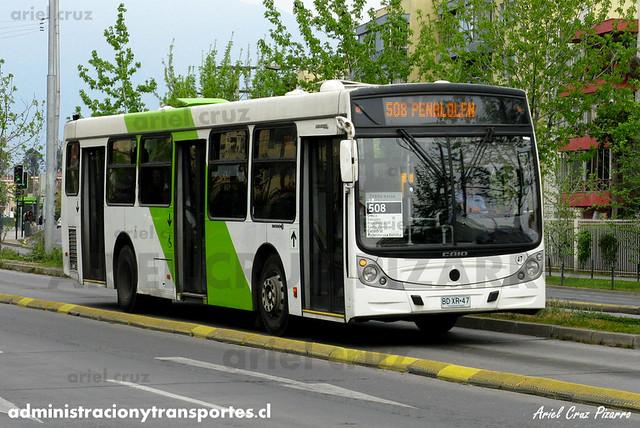 Transantiago - Metbus - Caio Mondego H / Mercedes Benz (BDXR47)