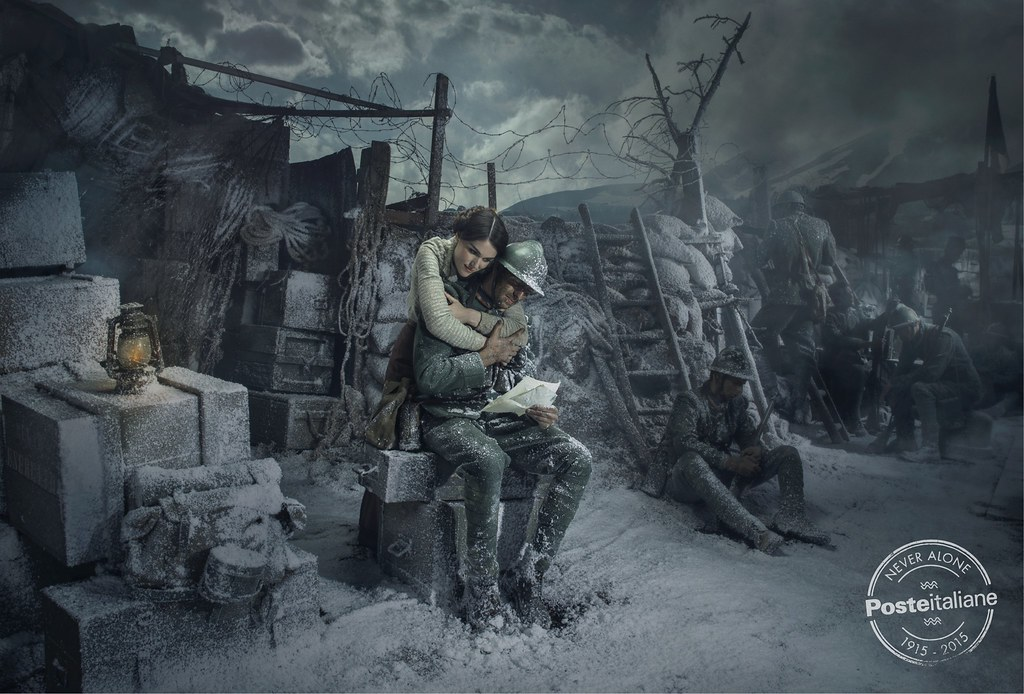 Poste Italiane - Never alone 2