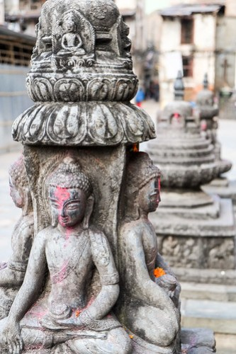 Chaityas. Kathmandu