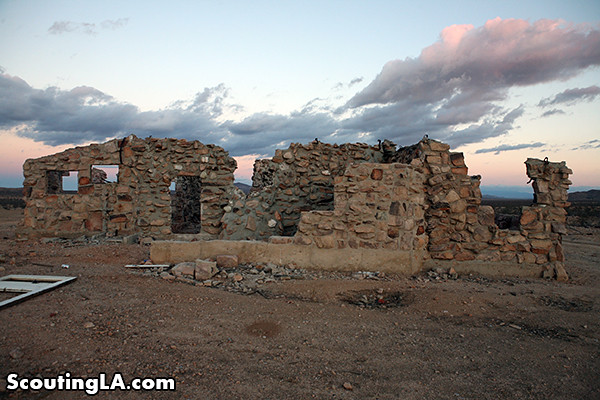 Stumbling upon an abandoned farm in the mojave desert for Granite remnants los angeles ca