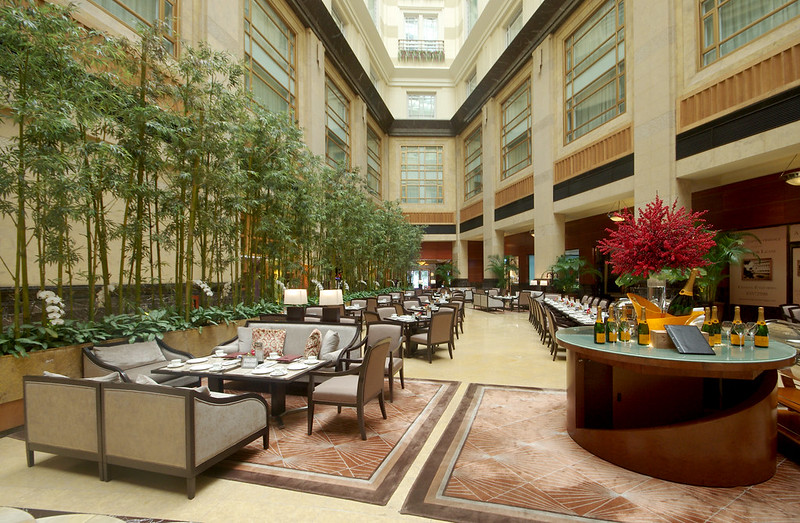 fullerton hotel lobby