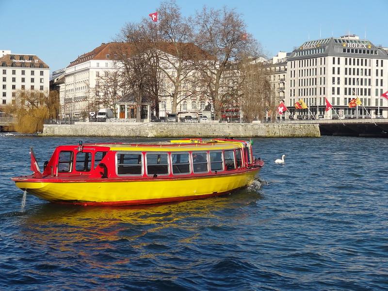Geneva boat taxi