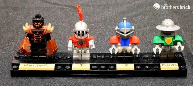 NEXO Knights bot Design