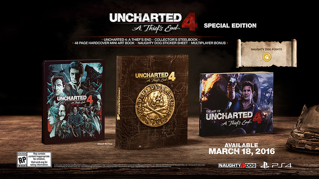 The Uncharted 4: A Thief's End Special Edition