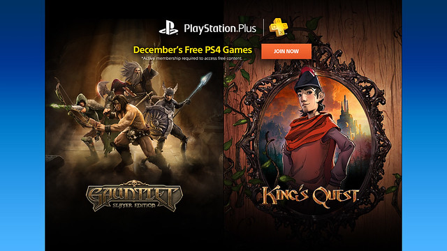 PlayStation Plus: December 2015