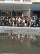 Line-up at off site venue for Festival d'été de Québec