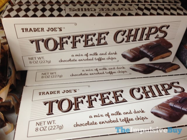 Trader Joe's Toffee Chips