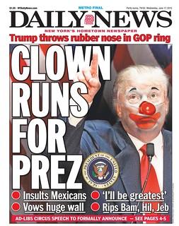 Clown Runs For Prez (Trump)
