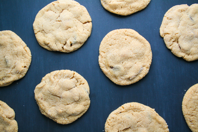 chocolate chip peanut butter cookies [ inthiskitchen.com ]