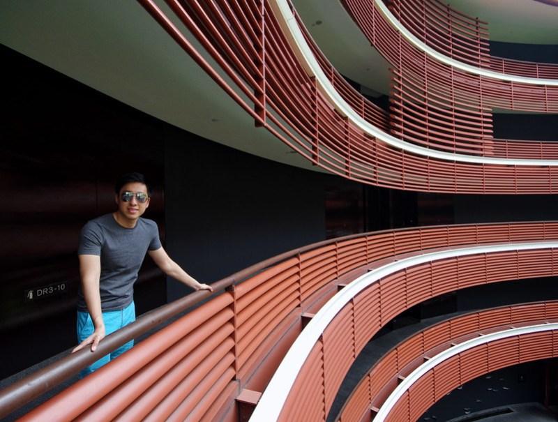 corridor of capella singapore